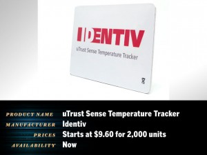 uTrust Sense Temperature Tracker