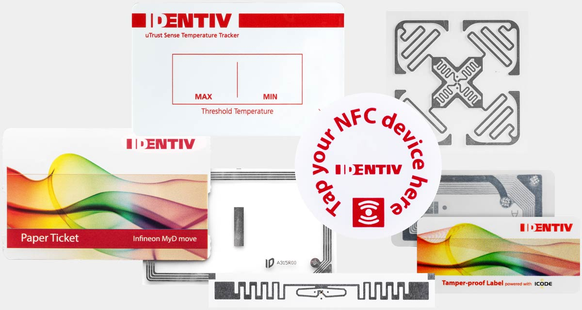 Identiv RFID Inlays and Tags