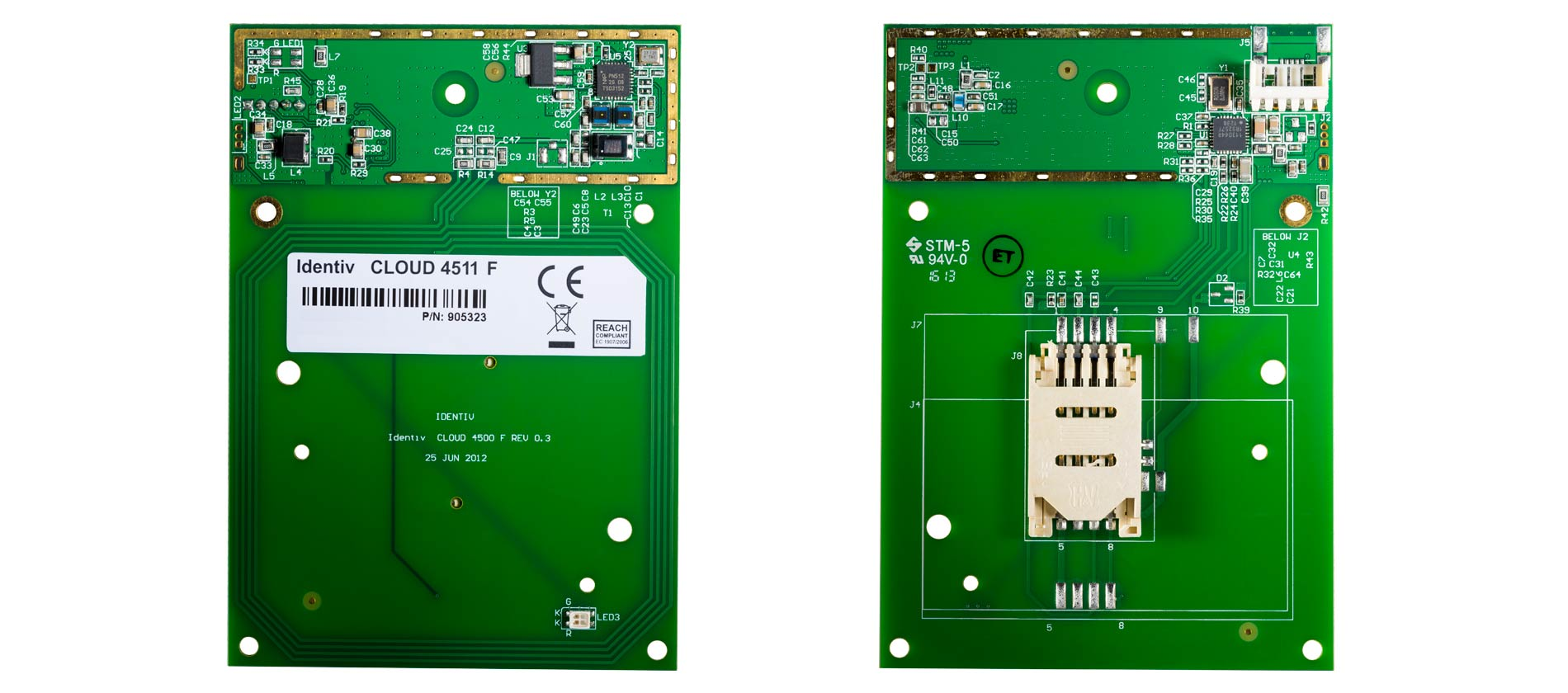 Identiv uTrust 4511 F Contactless Smart Card Reader Board