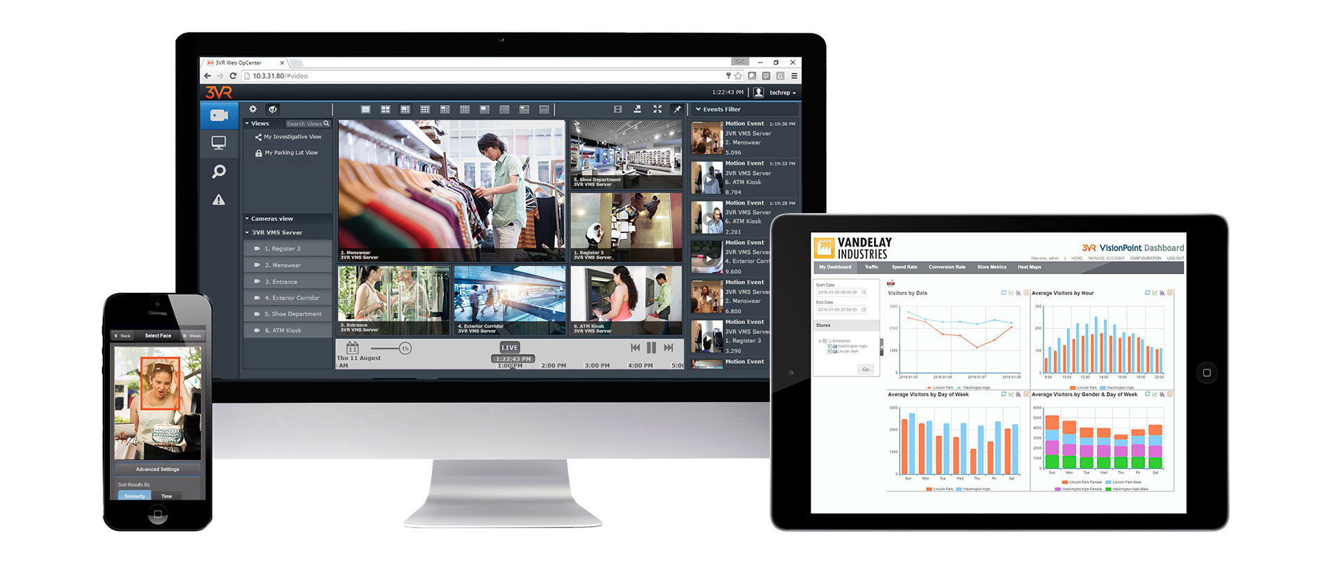 Identiv Video Management Software (VMS)