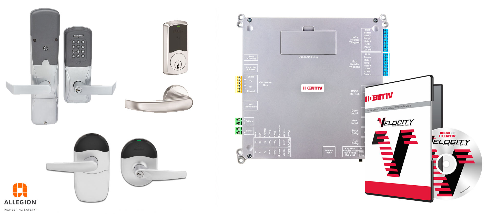 Identiv Schlage Wireless Lock Integration with Hirsch Velocity