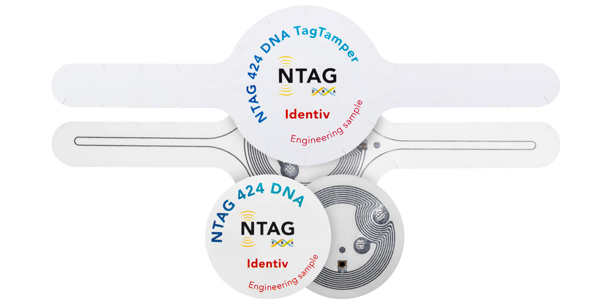 NTAG® 424 DNA Tags