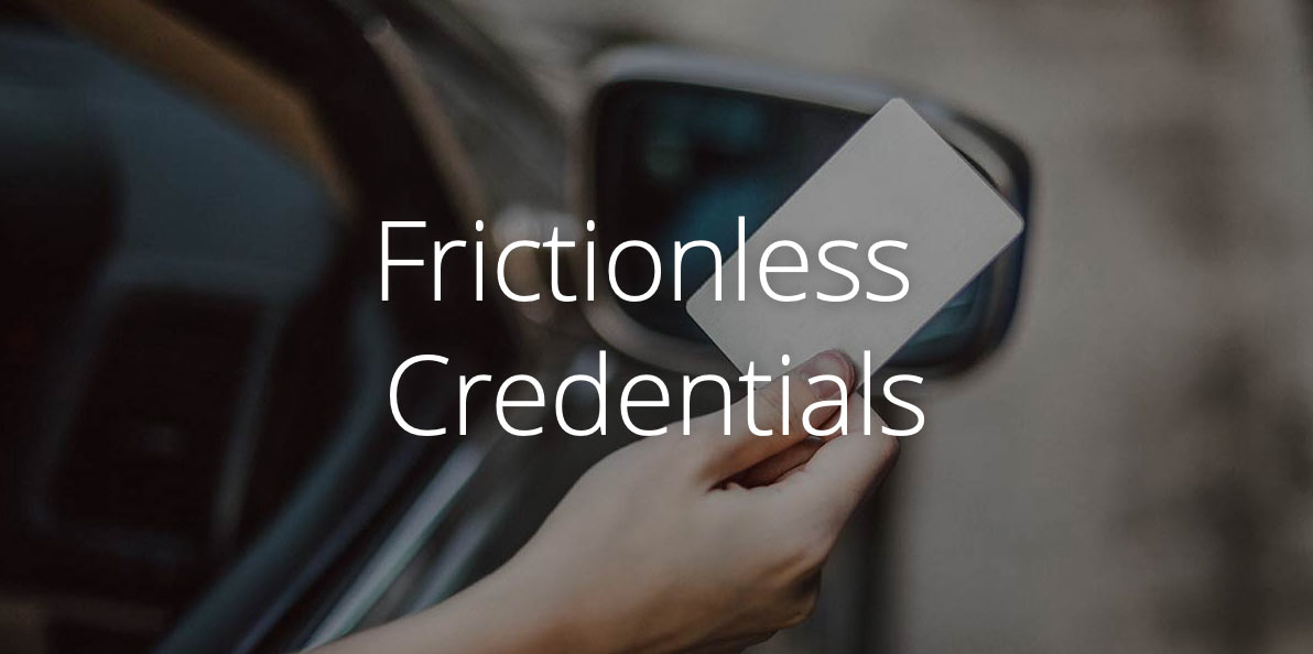 UHF Credentials - Frictionless Access