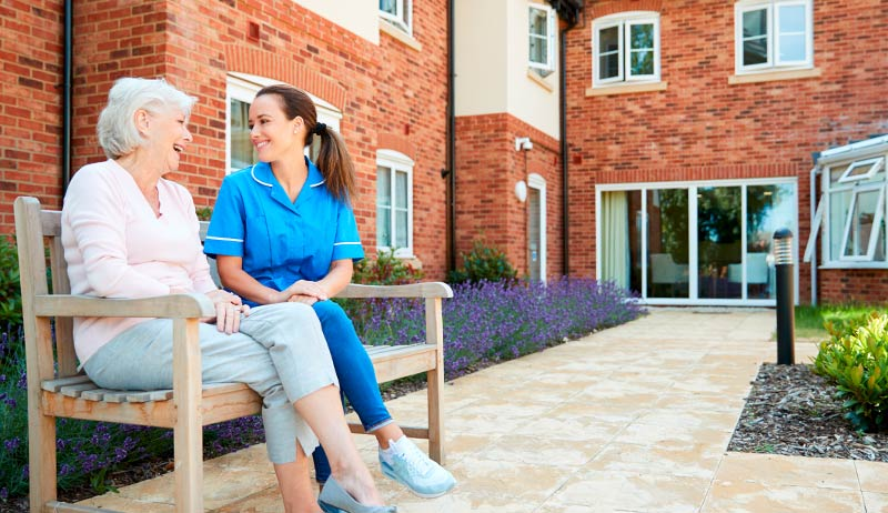 Access Control for Assisted Living and Nursing Homes